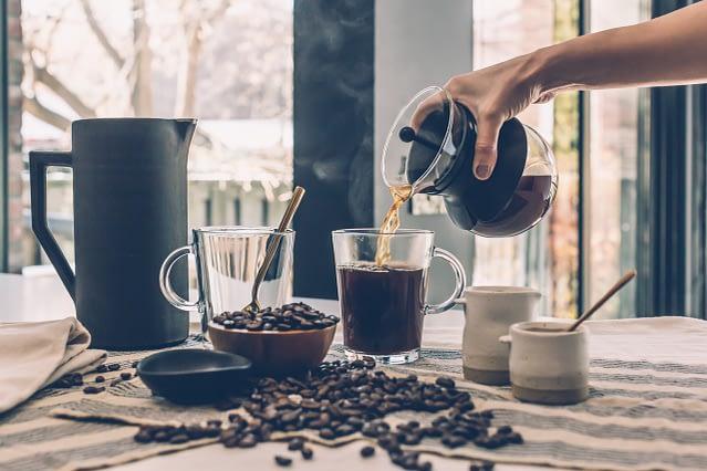 coffee machine brew