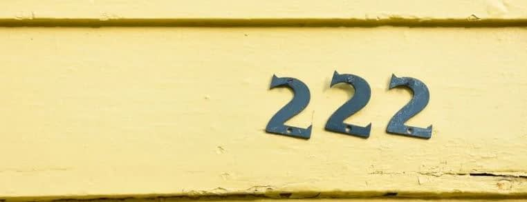 The Meaning of Number 222 in Angelic Numerology
