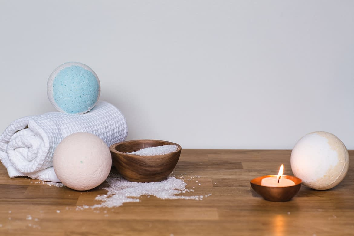 A Whole New Perspective on Bath Bombs