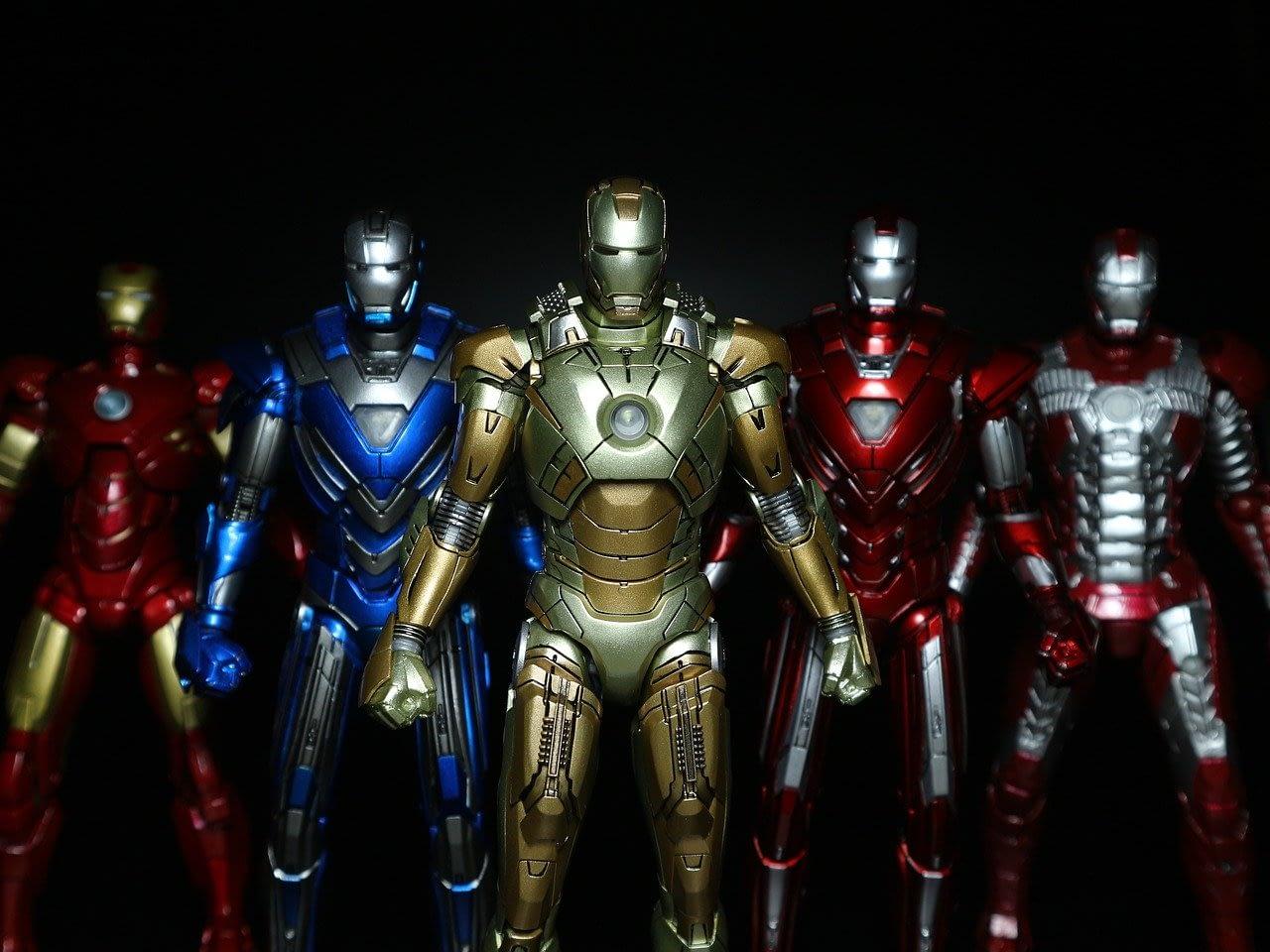 shields iron man costumes
